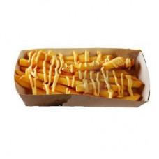 Картофель фри с сырным соусом (мал.)