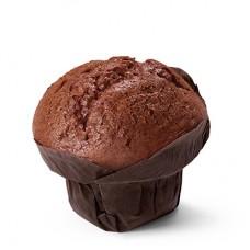 Маффин шоколадный с черничным джемом